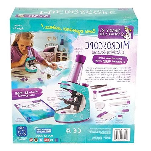 Educational Insights Nancy Science Microscope 22-page Journal,