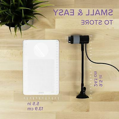 Plugable USB Microscope with Observation Stand