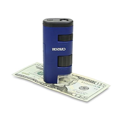 Carson Pocket Micro LED Lighted Microscope System