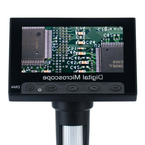 Quality Monitor Digital Video Microscope LED Magnifier