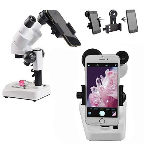 Gosky Portable LED Binocular Magnifications - of The Microworld Microscope