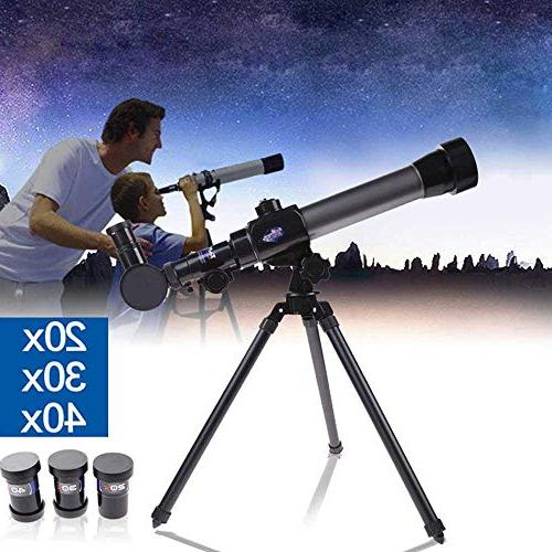 Telescope Astronomy - TEEPAO with Rotation & Super Lightweight Tripod - Portable Telescope for