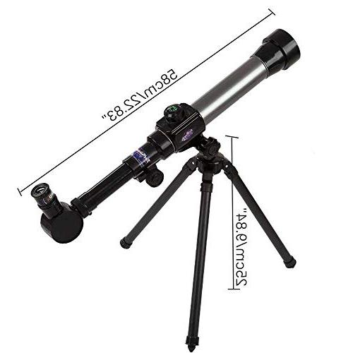 Telescope Kids and Astronomy Beginners - Astronomical with 360° Rotation Super Lightweight Tripod Portable for