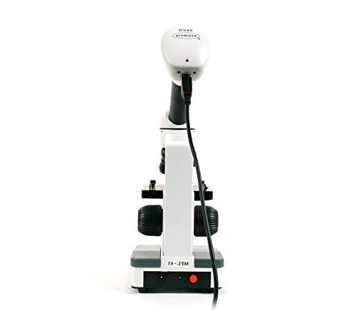 My First Digital Microscope Digital WF Eyepiece, 40X to 400X Magnification, LED Illumination, and Accessory