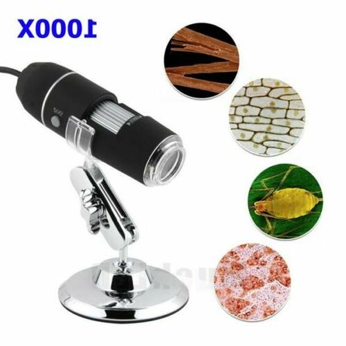 USB 1000X 2MP Magnifier Camera + US