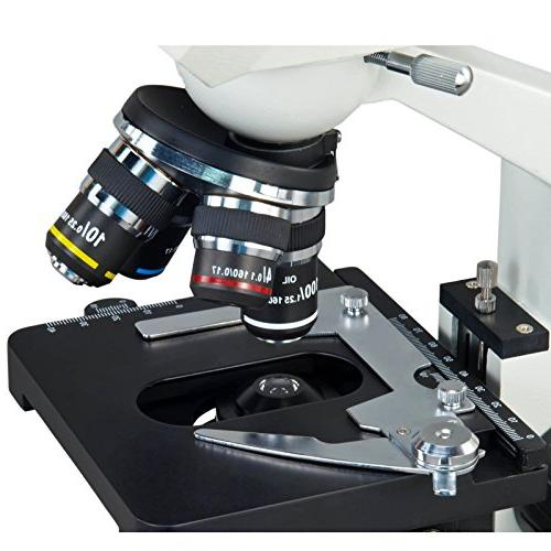 OMAX Digital Compound Microscope with Built-in 1.3MP and with Windows and