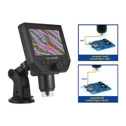 Lab USB Digital 600X 3.6MP HD Viewer Microscope 8 LED Magnif