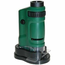 MicroBrite 20x-40x Zoom LED Lighted Pocket Microscope MM-24
