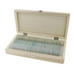 MonMed Prepared Microscope Slides - 50 Pc Microscope Sample