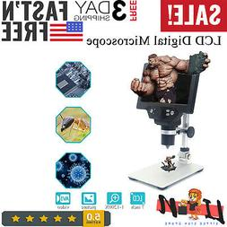 MUSTOOL G1200 Digital Microscope 12MP 7 Inch Large Color Scr