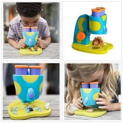 My First Microscope for Kids Preschoolers w Extra-large Eye-