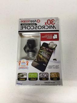 New AppScope Quick Attach 30x Cell Phone Microscope By SkyRo