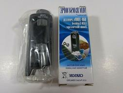 Pocket Microscope MicroMax 60x-100x LED Lighted Zoom Microsc