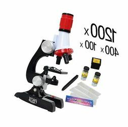 Science kits for kids microscope Beginner Microscope Kit LED