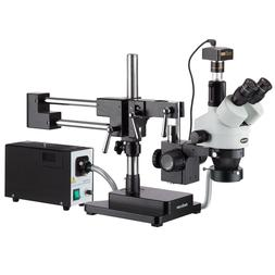 AmScope SM-4TZ-FOR-10MB 3.5X-90X Stereo Boom Microscope With