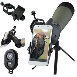 Spotting Scope Mount Adapter for IPhone Android Smartphone V