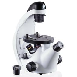 stem science discovery 40x 500x inverted microscope
