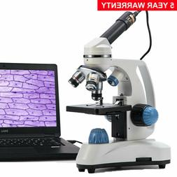 SWIFT SW380T 40X-2500X Compound Lab Microscope Trinocular+25