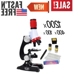 Top Quality Educational Toys For Kids Microscope Kit Science
