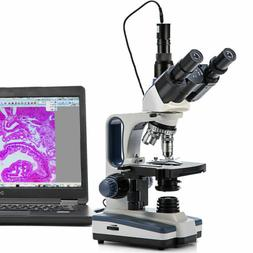 SWIFT 40X-2500X Digital Trinocular Microscope Compound Lab w