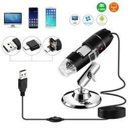 US Digital Microscope Magnifier Wireless 1000X HD USB for PC