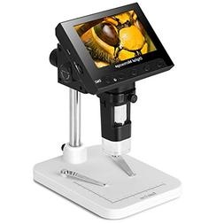 Koolertron 4.3 inch Full Color LCD Digital USB Microscope wi