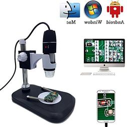 USB Digital Microscope Camera, Jiusion 40-1000X Portable Mag