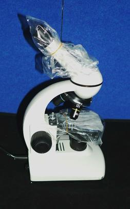 WALTER WF10X  MICROSCOPE WITH LAMP 40x, 10x & 4x objectives